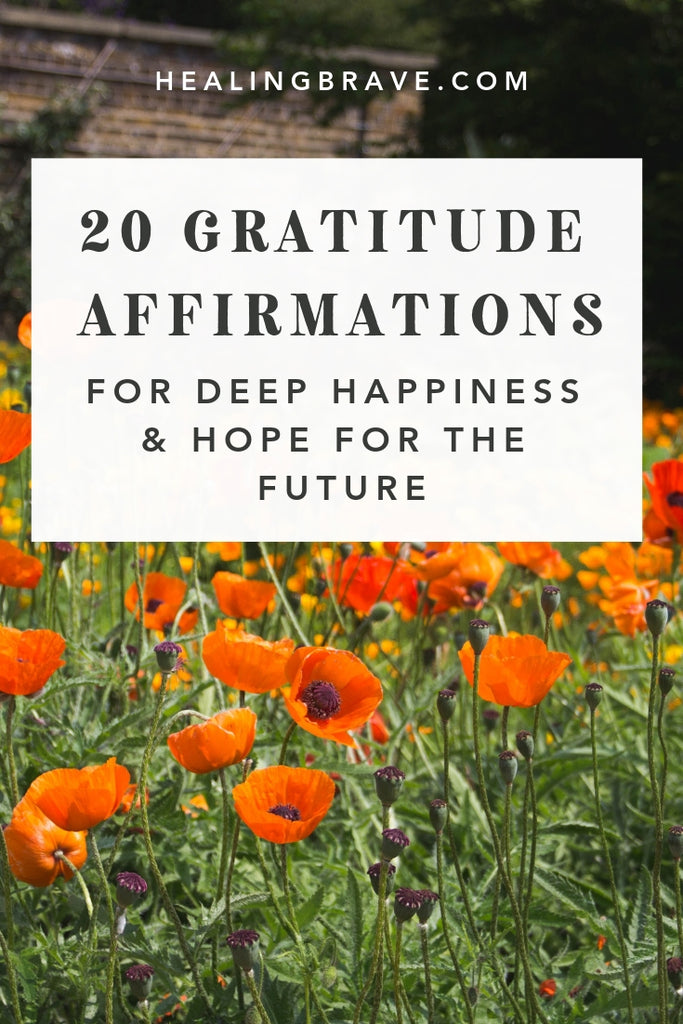 Life doesn't respond to what you want. Life responds to what you pay attention to. But it's not easy to feel grateful when things aren't going right. Read these gratitude affirmations to help you ease into a new state of mind. No forcing. No rushing. No pressure. You'll start paying attention to what you want to see more of.
