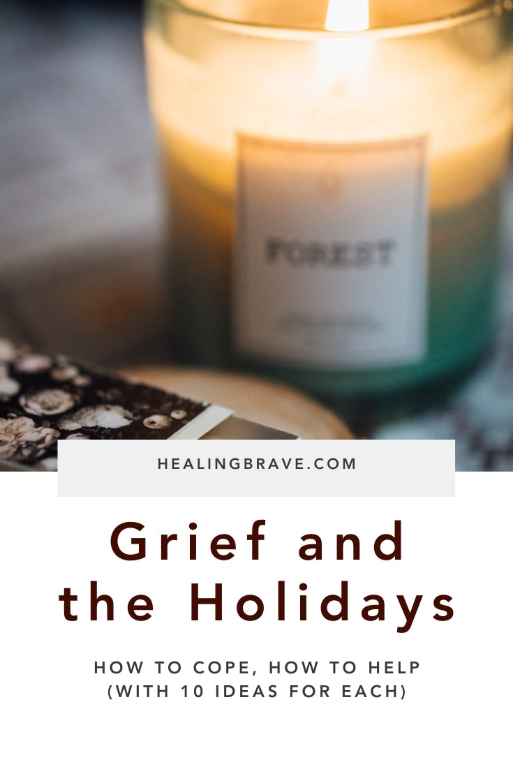 You don't move on when you lose someone you love. You can move in, and move forward, but not past what happened, what's lost. When it comes to grief and the holidays, or anytime, you can't rush your healing. What you can do is remember, honor, and incorporate your loved one into your life in new ways.