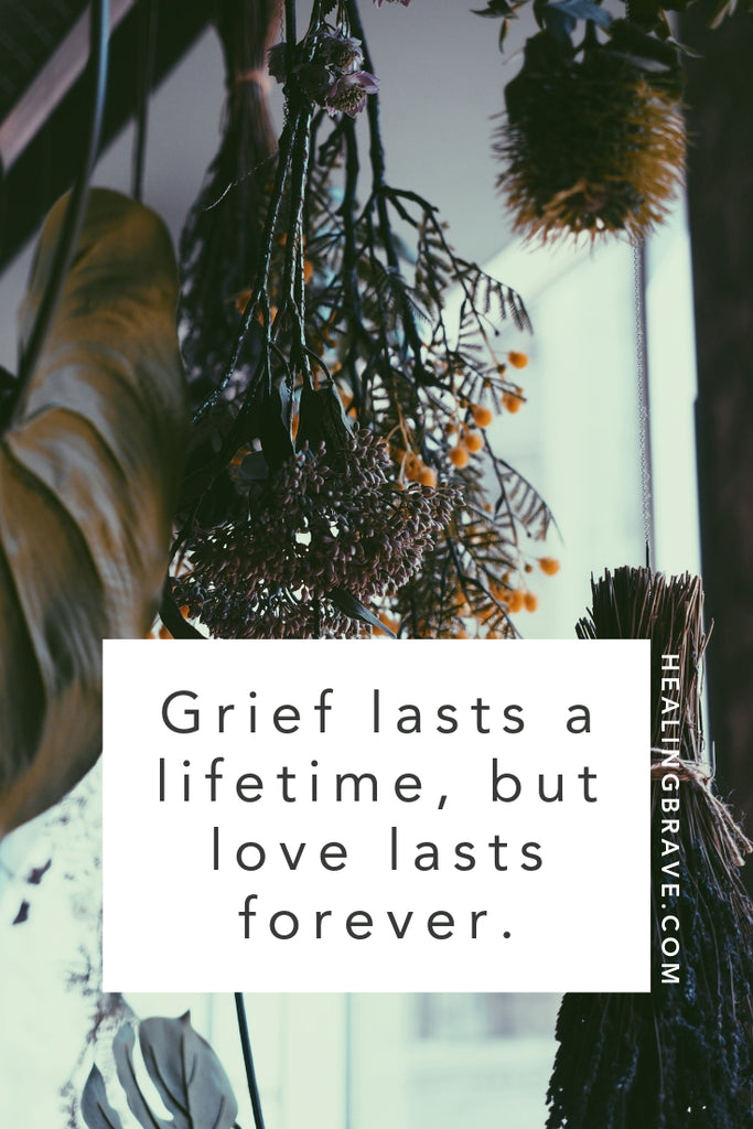 When my brother died by suicide eight years ago, I didn't know what to expect out of life after. Do you go through the stages of grief, one at a time? How long till you can laugh again? Does the pain ever go away? I found some answers, but not all of them. I learned that grief lasts a lifetime, but love lasts forever.