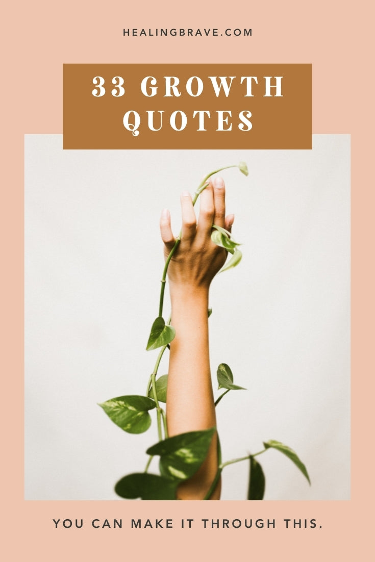 If you'd rather grow through what you're going through, read these growth quotes. They'll remind you of your own potential and of how strong you can be, even when you don't feel it. You're strong enough to live a life that you're proud of, no matter what happens to (or for) you.
