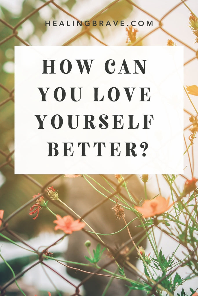 You don't have to feel like you've accomplished enough or are worthy of all the affection in the universe to love yourself better. You can start right this minute, for no reason. You can try just because it's something new, and it might yield different results, and different sounds better to you right now.