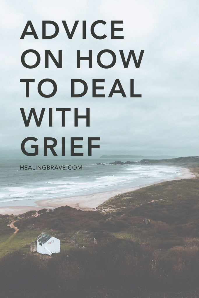 I came across an article the other week that made me stop. Since I started writing openly five years ago, I've found a lot of incredible advice online on how to deal with grief. The advice I read in this article — taken from a Reddit thread — was spot on and beautifully put. I knew you'd understand & appreciate it too.