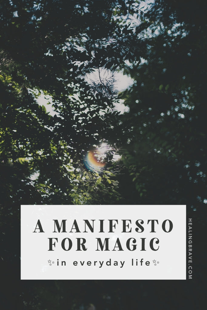 "Your word for 2020 is an umbrella word for how you want to feel most of the time and what you want to experience. It's a touchstone for when to say, ""Hell yes!"" and when to say, ""No, thank you."" Since my word for 2020 is MAGIC, I'm sharing my Manifesto for Magic with you. In case you want more magic in your life, too."