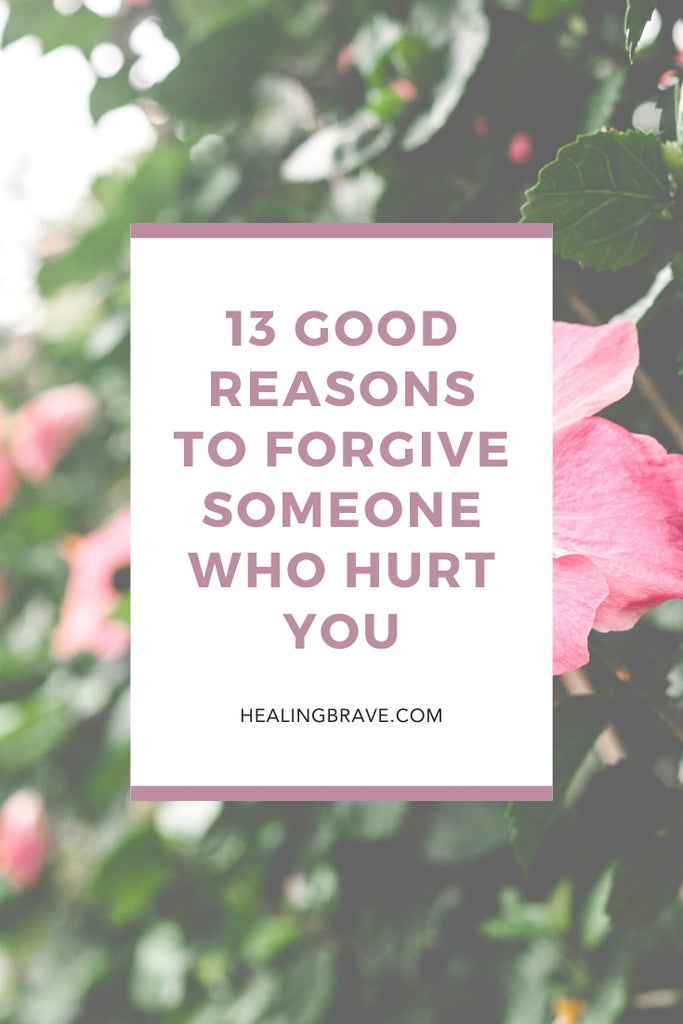 It's easy to say forgiveness heals, that it's for the injured and not the offender, but it's another thing entirely to forgive. Forgiveness is a process rather than an event. It's an unfolding decision, one you make again and again. But why forgive someone who's hurt you? Here are 13 good reasons to try.