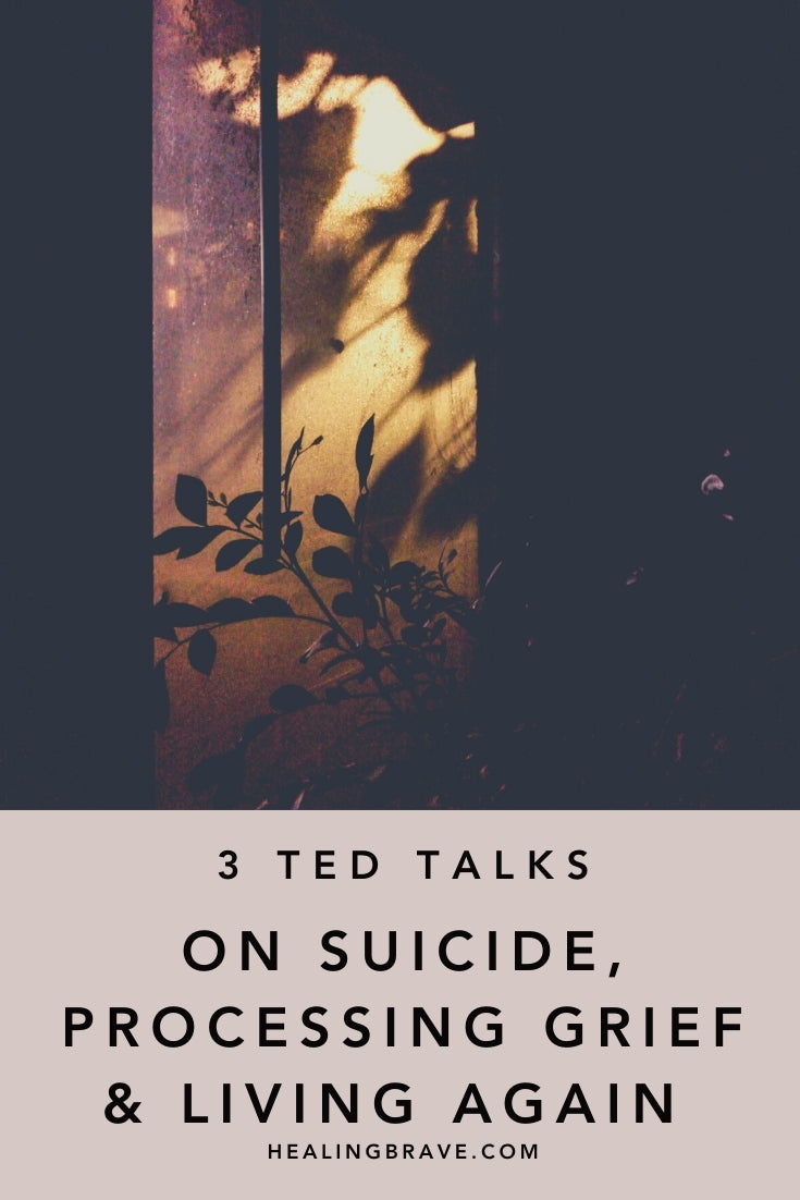 It's worth 15 minutes of your time to consider someone else's take on the hardest things they've been through. Things like suicide loss or a fatal diagnosis. Your attention, shone on matters many people avoid because they're uncomfortable, is a gift. These TED Talks on grief and living again are worth a listen.