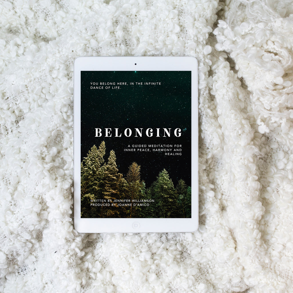Belonging: A Guided Meditation for Inner Peace, Harmony and Healing