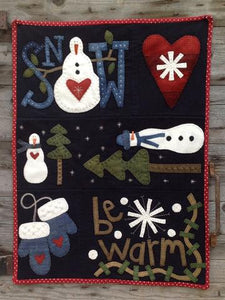 Snow Happy  pattern  by Wooden Spool Designs