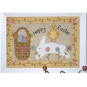 Little Stitchess Easter Stitchery Pattern by Bareroots