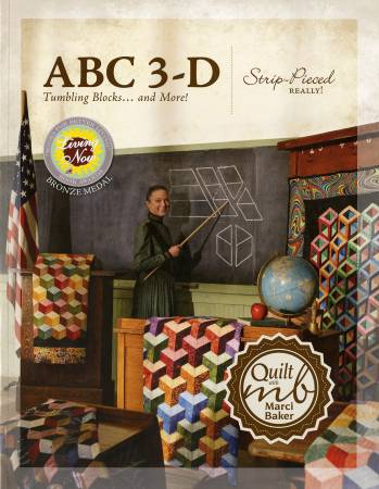 ABC 3D BOOK BY MARCI BAKER