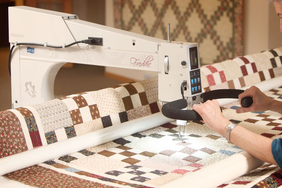 Learn to Long Arm Class for Quilt for Rental at our Shop APQS