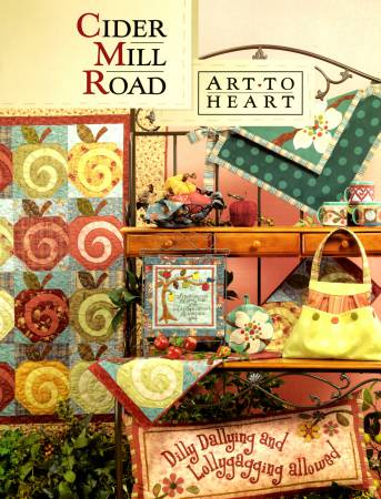 Cider Mill Road Table Runner Class - A Pattern by Nancy Halvorsen May 25th 9:30 am