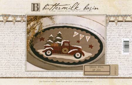 Truck Full of Joy Pattern by Buttermilk Basin