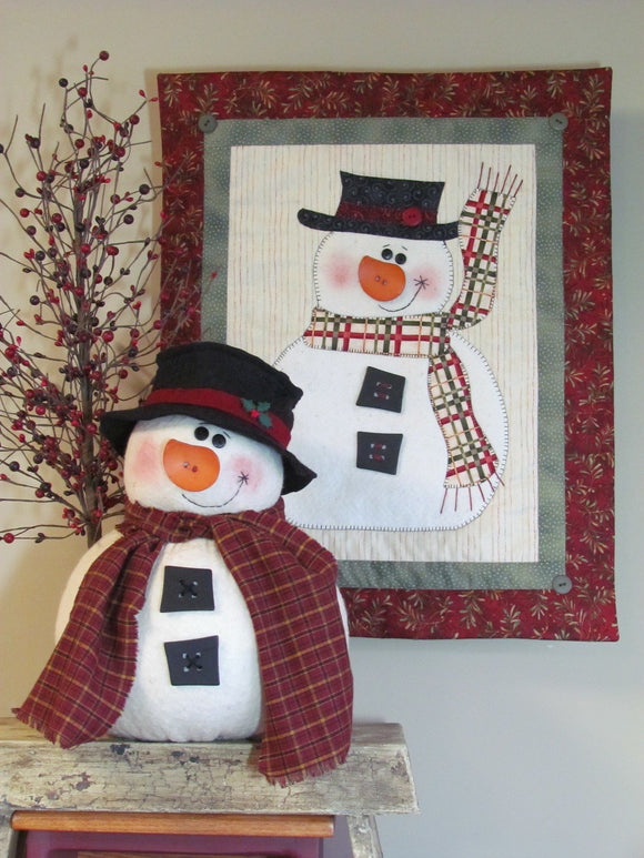 Chubby Snowman & Wall Creations by Cottonwood Creations