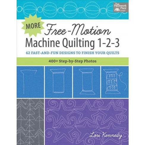 Free Motion Machine Quilting 1-2-3 Book