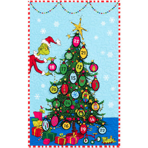 Grinchmas Tree Countdown Wall Hanging Kit