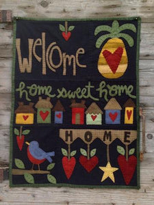 Home is where the Heart is pattern  by Wooden Spool Designs
