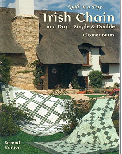 Irish Chain Quilt in a Day Book by Eleanor Burns