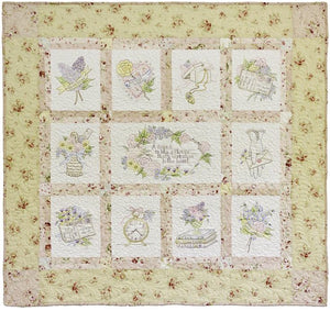 Fondest Regards Quilt Pattern by Crab-apple Hill