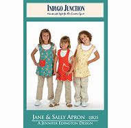 Jane and Sally Apron by Indygo Junction