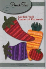 Garden Fresh Runners & Placemats by Pieced Tree Patterns