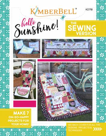 Hello Sunshine, The Sewing Version book by Kimberbell