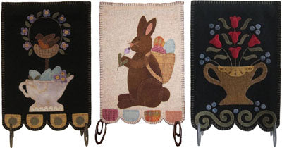 Spring Banners by Lily Anna Stitches