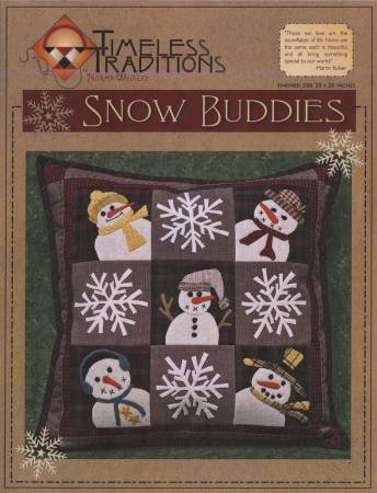 Snow Buddies Pillow Pattern by Timeless Traditions