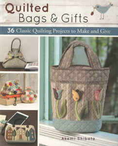 Quilted Bags & Gifts Book By Akemi Shibata