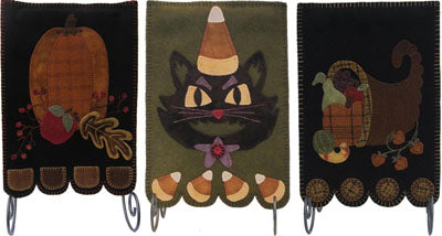 Fall Banners by Lily Anna Stitches