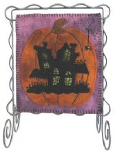 October Bitty Banner by Lily Anna Stitches