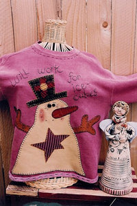 Workin 4 Ice Cubes Sweatshirt pattern by Memes Quilts