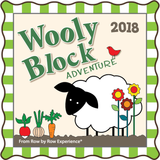 2018 Wooly Block Adventure In My Garden Pattern