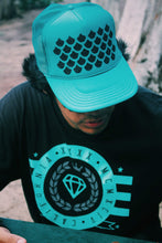 Load image into Gallery viewer, Unahi Designed Jade Trucker Hat