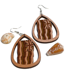 Ku'u Hae Hawai'i Earrings - Cherry