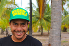 Load image into Gallery viewer, Aloha Aina Green Trucker Hat