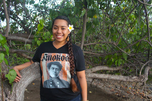 Lā Kū'oko'a Unisex Short Sleeve V-Neck T-Shirt