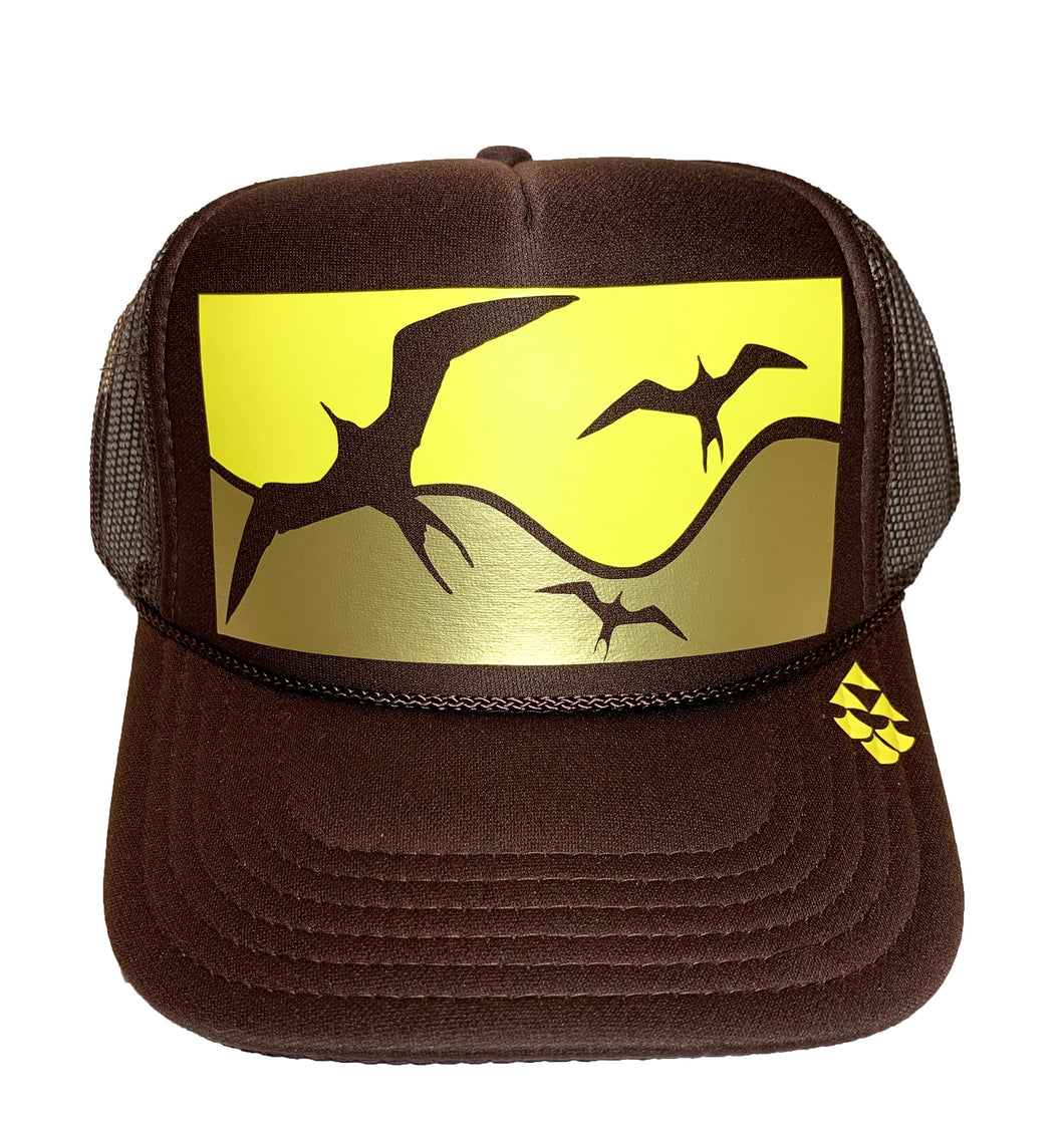 Kikaha Ka 'Iwa - Brown Trucker