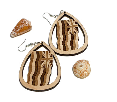 Ku'u Hae Hawai'i Earrings - Maple