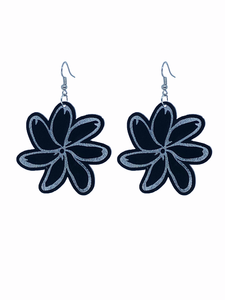 Tiare Earrings Black