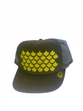 Load image into Gallery viewer, Unahi Designed Brown Trucker Hat