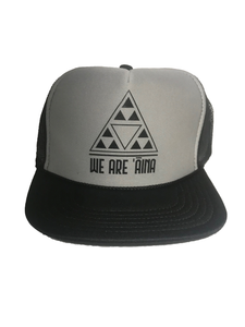 We Are Aina Black Trucker Hat