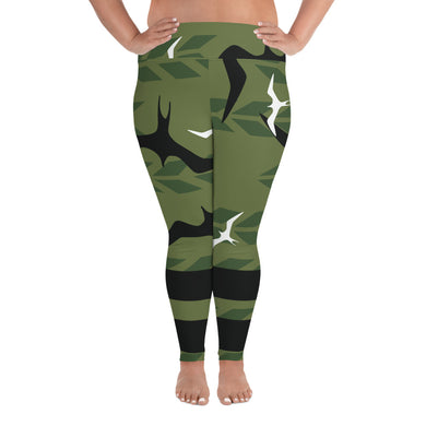 Green Iwa Leggings - Pukonakona Style