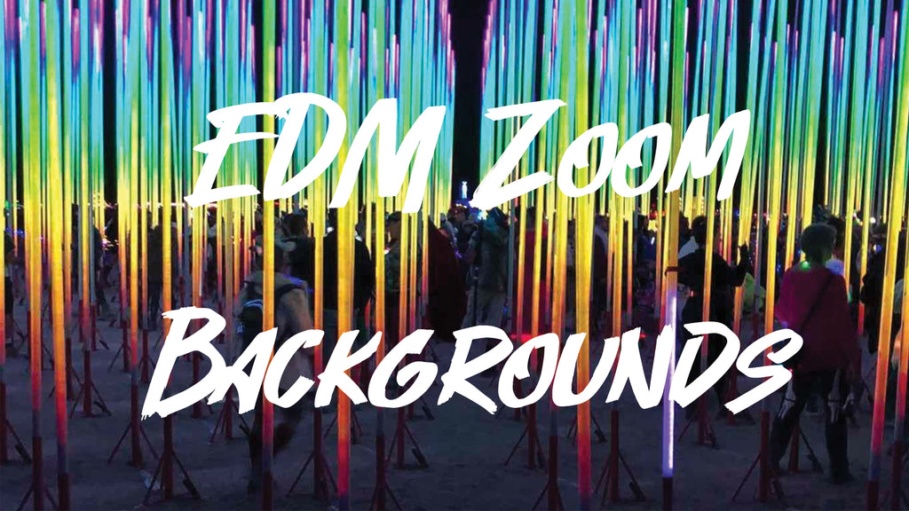 Zoom Backgrounds That Make You Feel Like You're Actually at a Rave