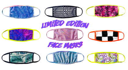 Limited Edition Face Masks