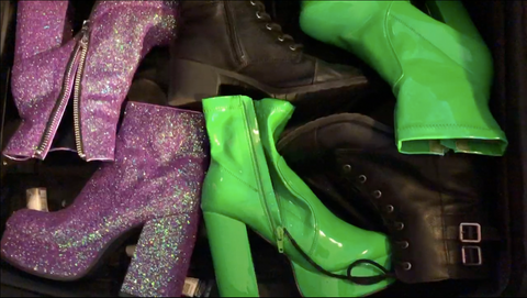 Lilly Enright - How to pack shoes to maximize space in your bag for a rave or music festival