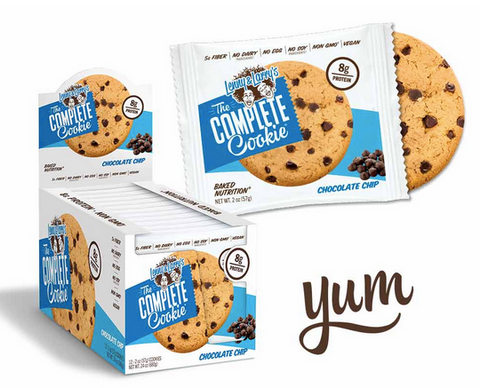 complete cookies chocolate chip - rave and festival food essentials