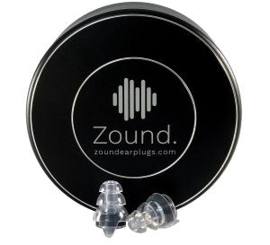 zound earplugs. dampen the sound at festivals without ruining the quality of sound