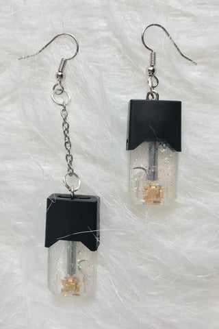 Glitter Pod Earrings