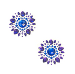Blue Violet Crystal Jewel Nipztix Pasties