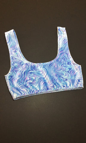 Snowglobe Crop Top